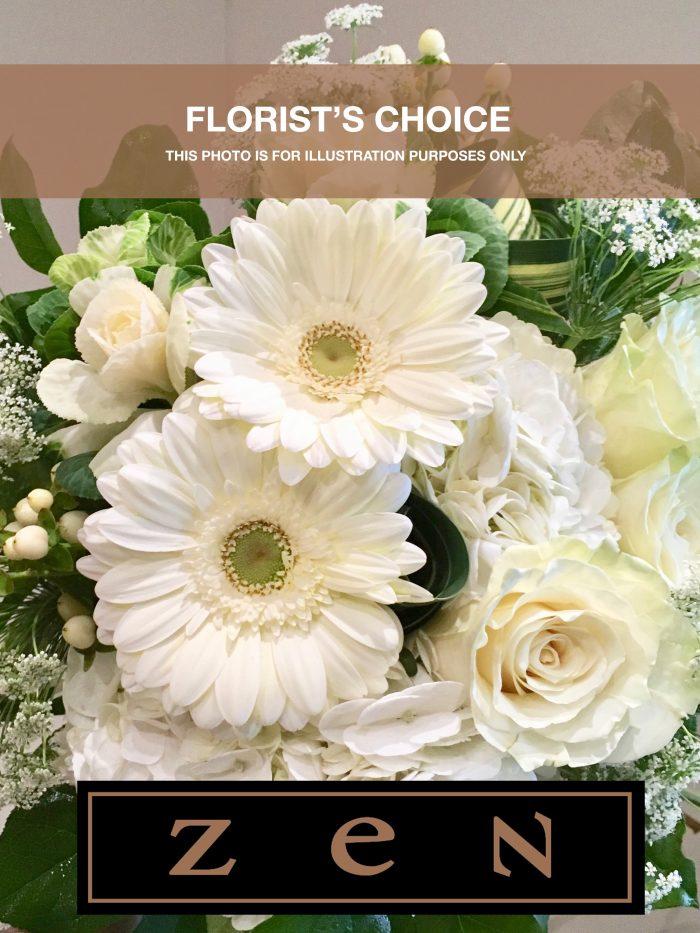 Zen le pouvoir des fleurs, florist's choice